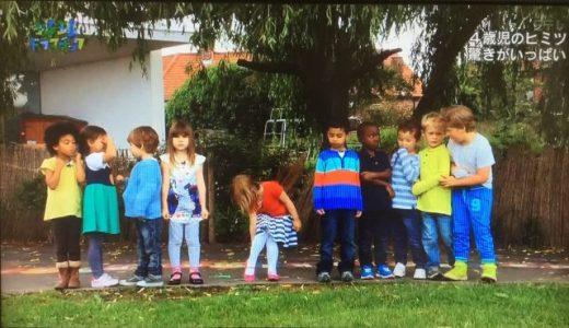 【レポ】地球ドラマチック「4歳児のヒミツ~驚きがいっぱい~」
