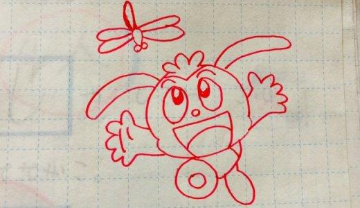 【雑談】赤ペン先生が描く「コラショの絵」が上手な理由