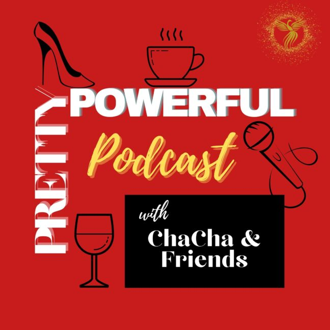 Pretty Powerful Podcast Cover Art