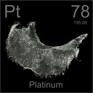 Platinum, source of carboplatin