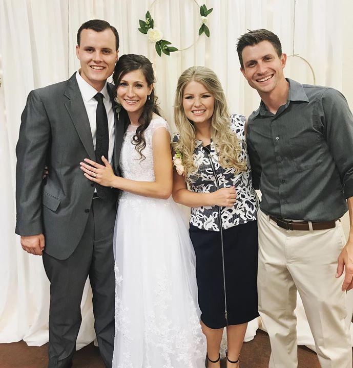 Wedding day! 🤵 #chadsSister #leviandhannahswedding