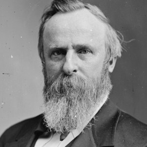 Rutherford B(eardly) Hayes.