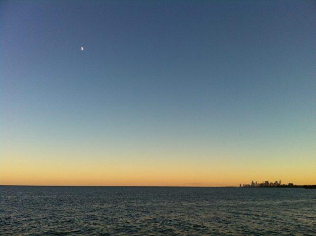 Chicago-sunset