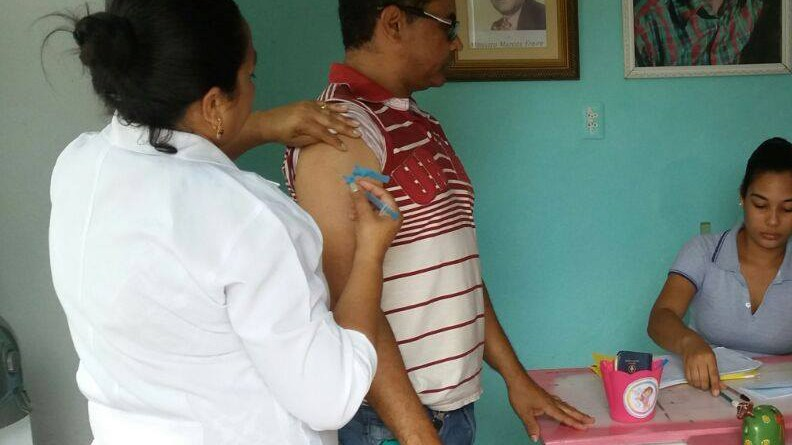 Secretaria de Saúde de Chã de Alegria realiza campanha de vacinação contra a Influenza (H1N1)