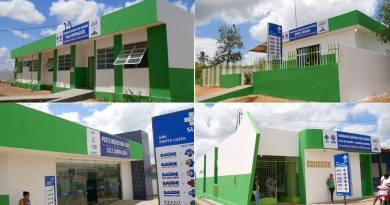 Prefeitura reforma 4 unidades de saúde em Chã de Alegria