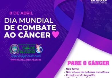 Dia Mundial do Combate ao Câncer é comemorado nesta quinta-feira