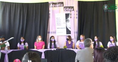 Prefeitura promove ação em alusão ao Agosto Lilás e aos 15 anos da Lei Maria da Penha