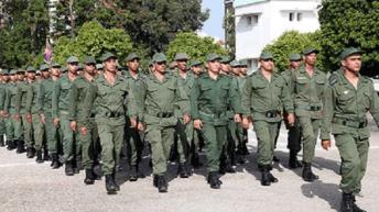 مبارة القوات المسلحة الملكية 2020 رتية جندي