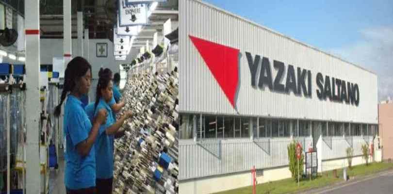 شركة يازاكي تعلن عن حملة توظيف 780 عمال وعاملات صناعة السيارات