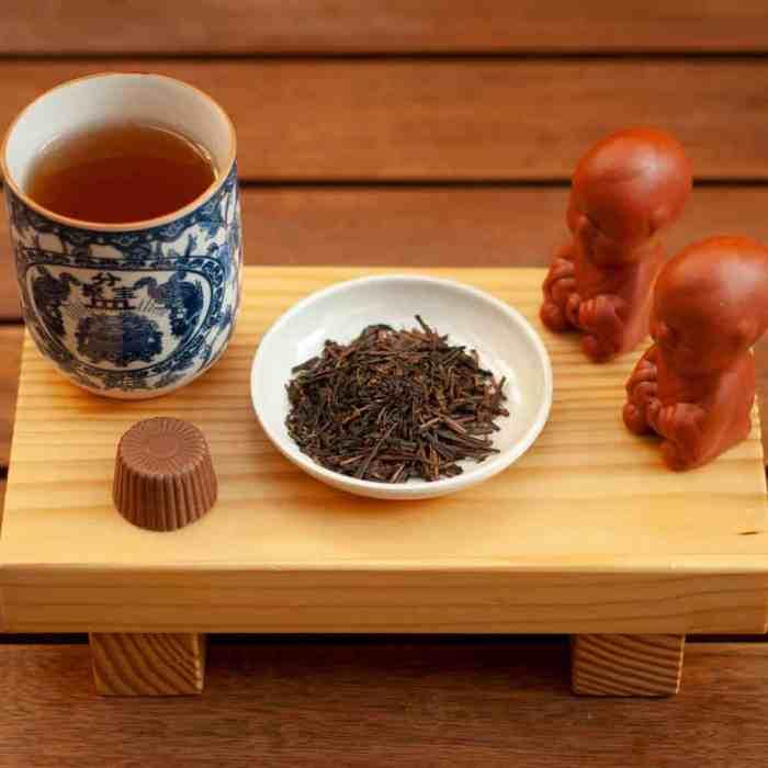 Chá Verde Bancha Torrado Hojicha | Yamamotoyama
