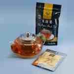 Bule Isabel 600ml + Chá Preto Amaya 100g + Chá Verde em Pó Amaya 40g