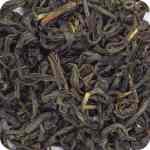 Folhas de chá preto