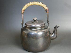 茶道具買取銀瓶