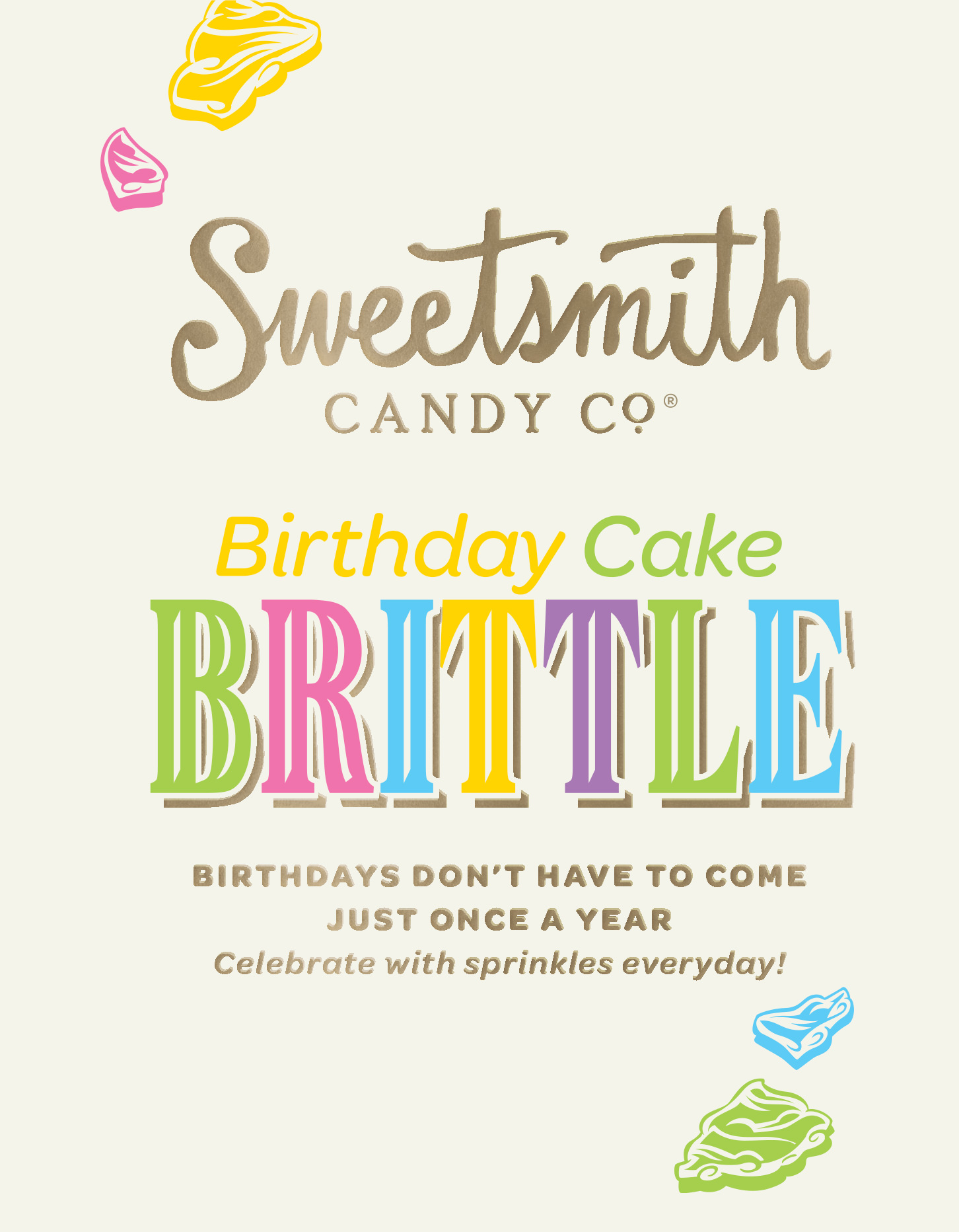 Chad Roberts Design Ltd. Sweetsmith Candy Co. Naming Brand Identity Design Package Design