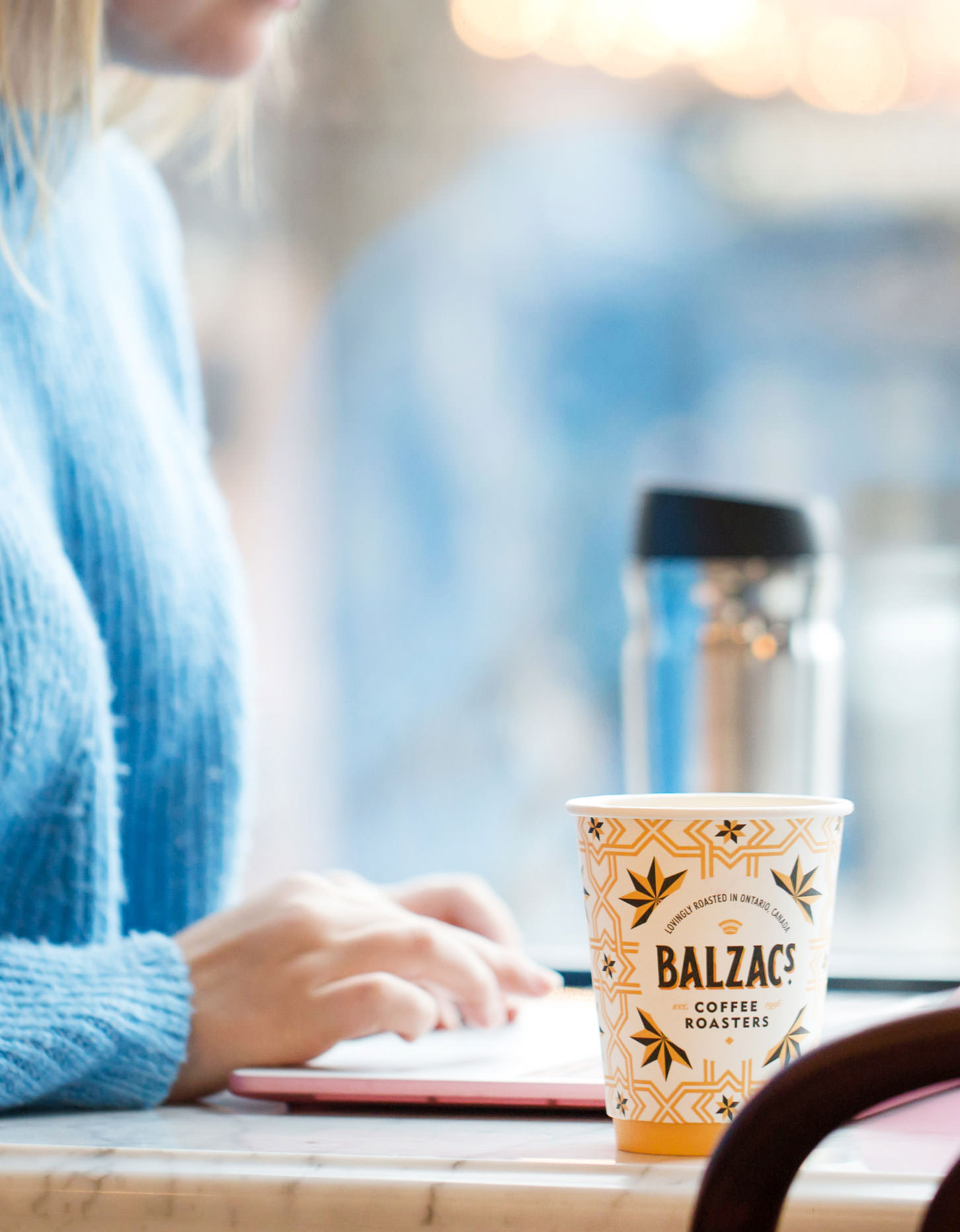 Chad Roberts Design Ltd. Balzac's Coffee Roasters Brand Identity Design Package Design