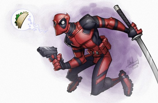 Deadpool Painting