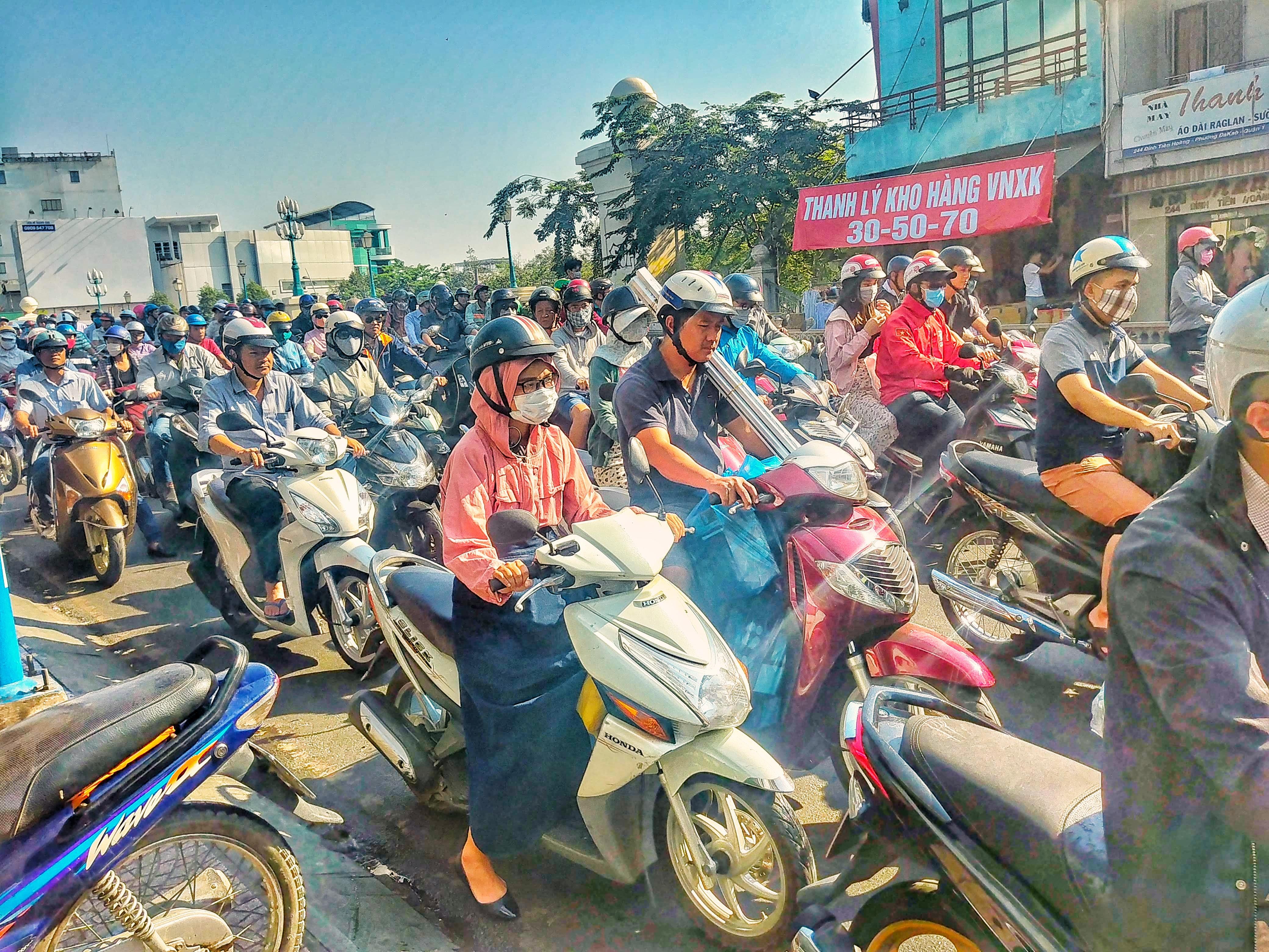 Scooters in Vietnam