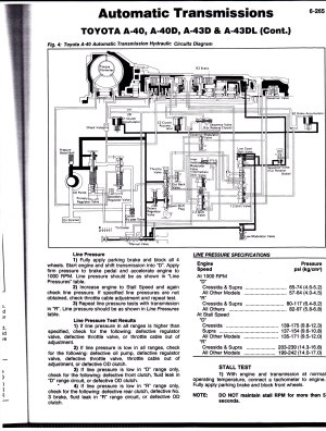 TOYOTA Automatic transmission service diagrams | Chads