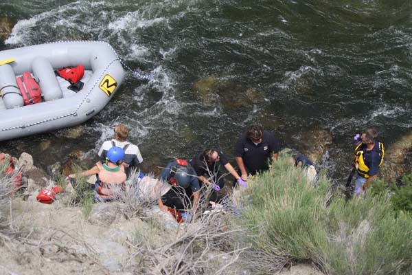 Restrictions in place after man dies in rafting accident ...
