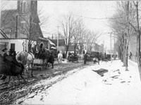 Sunday School Sleigh Ride 1888