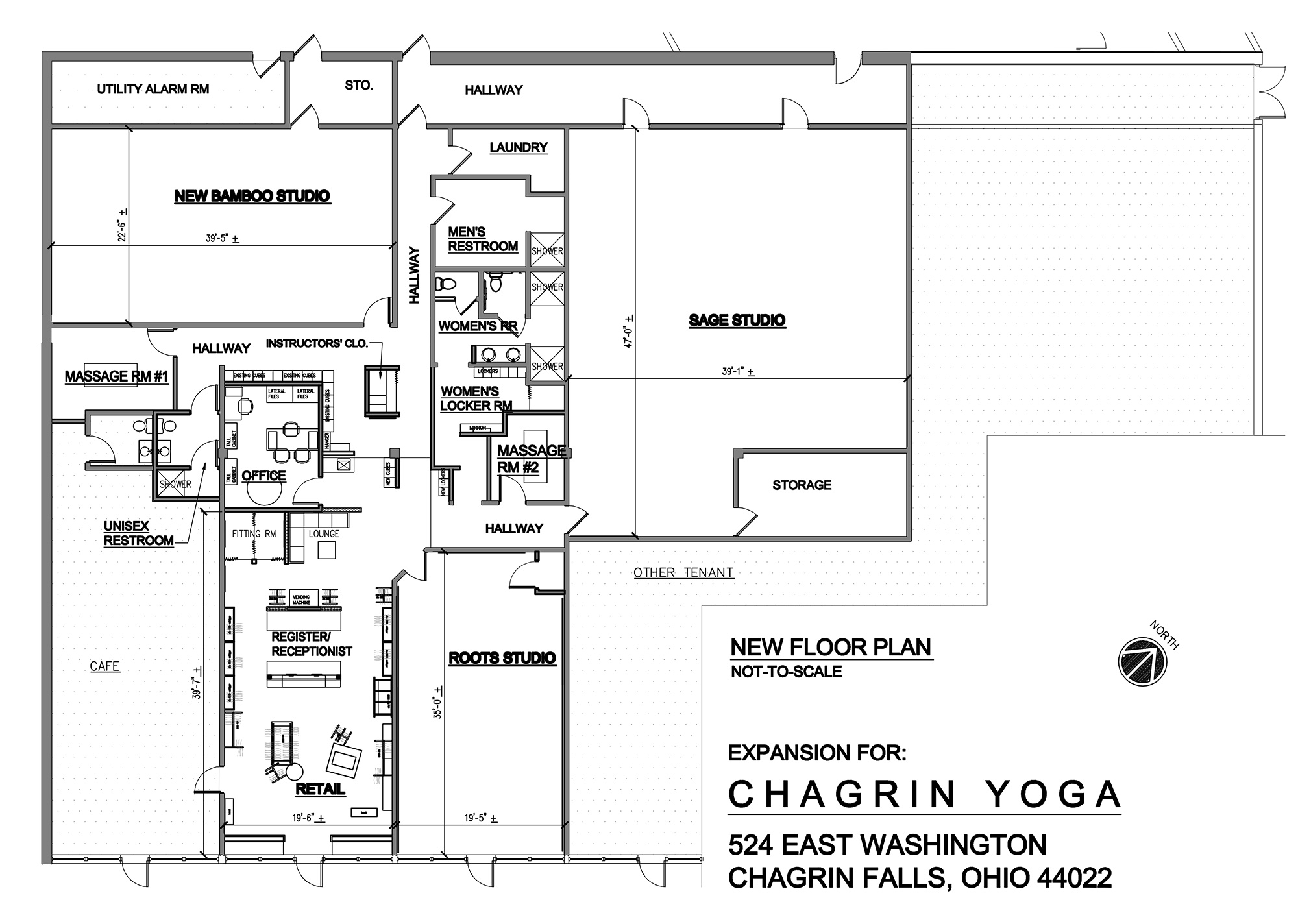 Chagrin Yoga Expansion Project