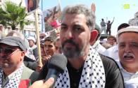 تصريح الأستاذ عبد الصمد فتحي على هامش مسيرة الدار البضاء