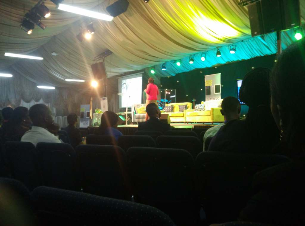 Subomi Plumptre dropping knowledge at #MattersArsing #StateofChurch #SMWLagos 2016.