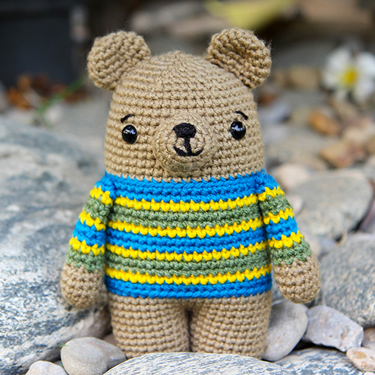 Bax the crochet bear thumbnail