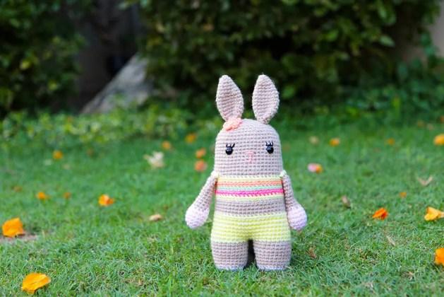 crochet bunny Bixie