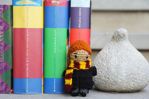 Ron Weasley crochet doll