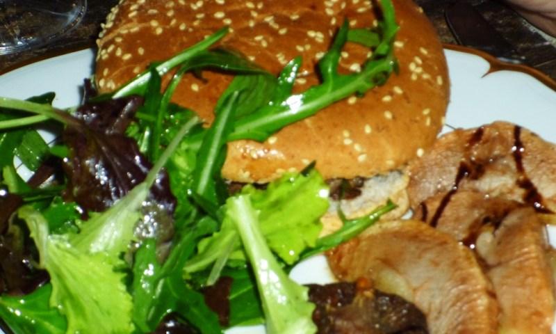 mac berges - Une nouvelle façon de voir les hamburgers... sanglier & foie-gras