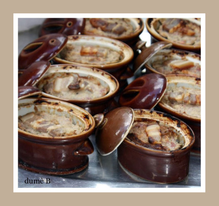 terrines au foie gras et aux figues