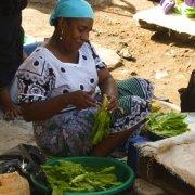 femme du marché