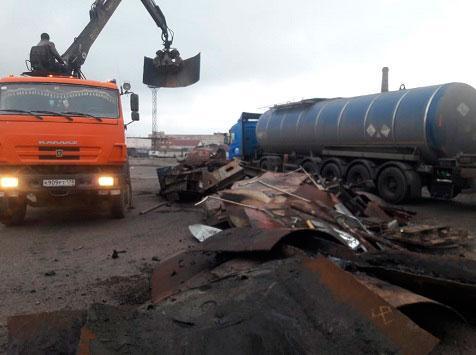 Пункты металлолома Санкт-Петербурга