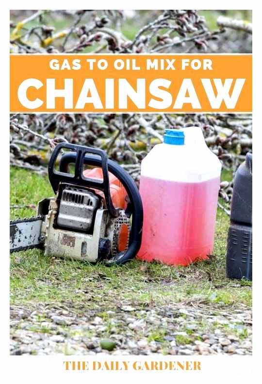Proportions Of Oil And Gasoline For The Partner Chainsaw