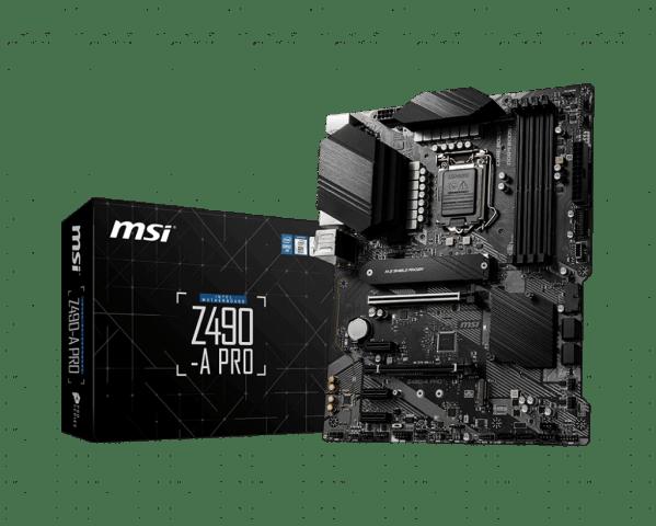 MSI Z490-A Pro Intel LGA 1200 Motherboard
