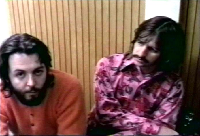 paul and ringo at apple