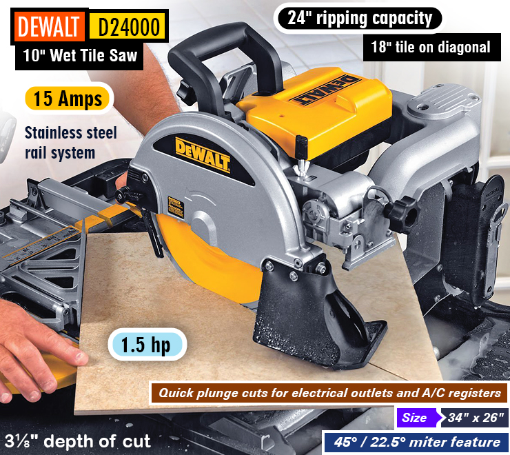 best wet tile saw reviews a complete buying guide