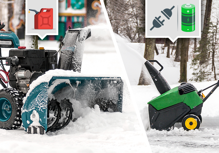 Electric Vs Gas Snow Blower How To Choose The Right Type