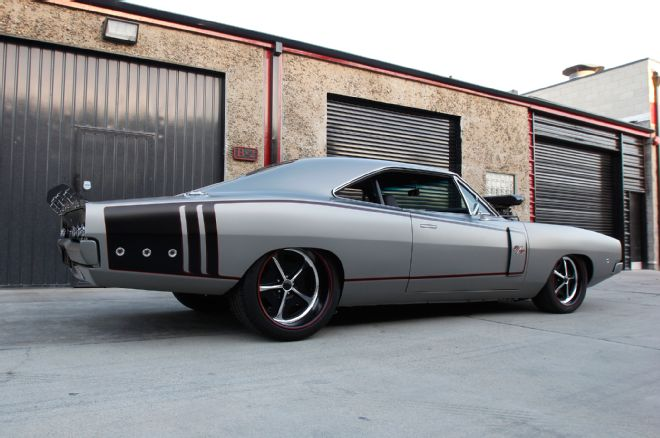 Sagan-dodge-charger-rear-view-side