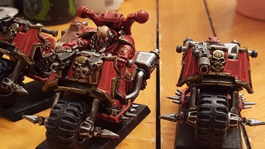 Khorne biker champ close-up