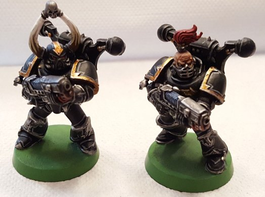 Black Legion, plasma gunner marines