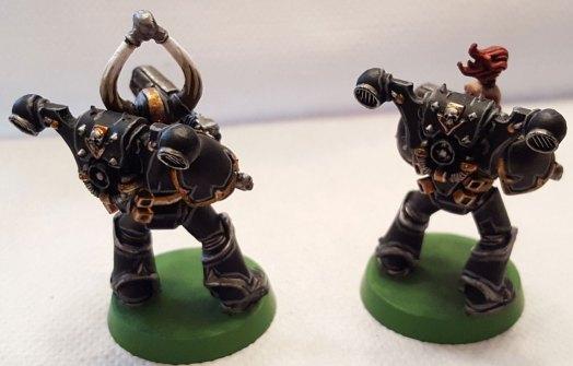Black Legion, plasma gunner marines, rear