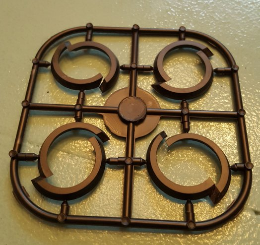 Base adapters sprue