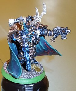 Black Legion Chaos Lord, completed, profile