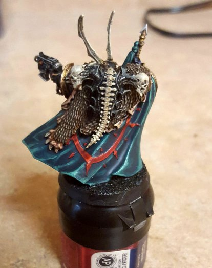 Black Legion Chaos Lord, near completion, back