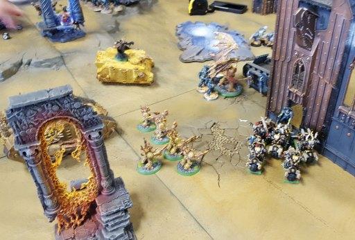 Traitor Legions Battle: Death Guard advance