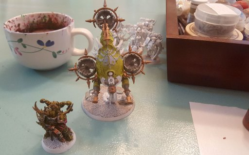 New Death Guard being painting