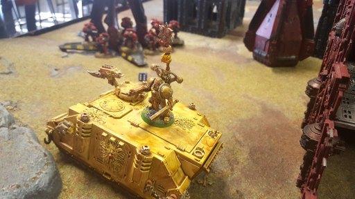 2nd Konor battle, Death Guard Rhino and Plague Marines
