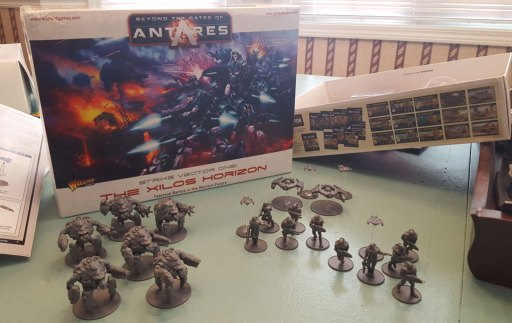 Antares models, both sides